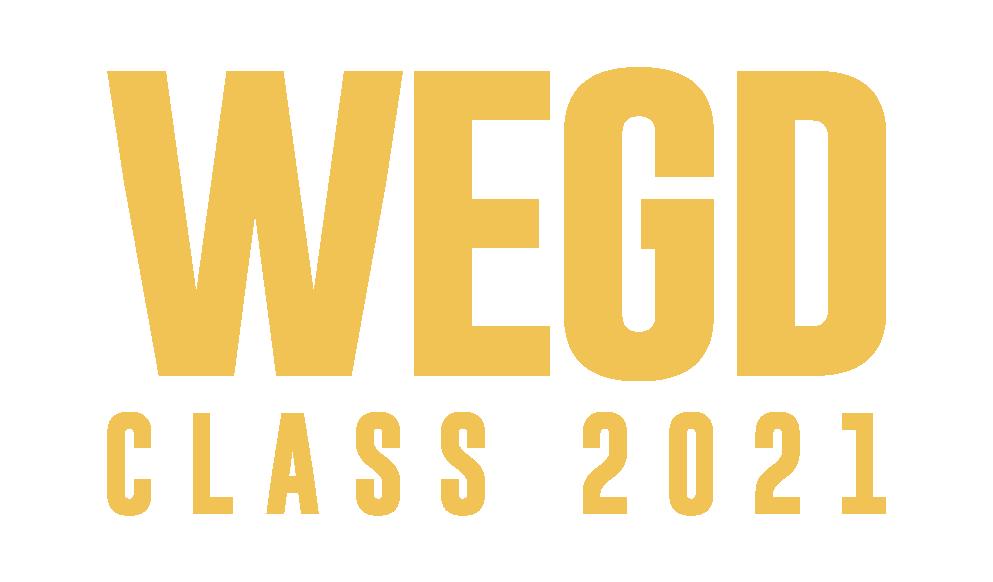Wordmark for WEGD CLASS 2021